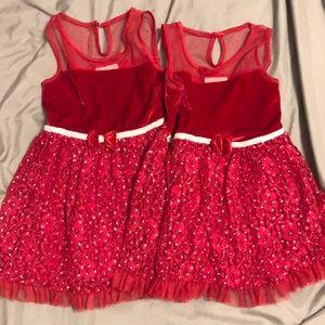 Twin Girls Dress Lot 3T